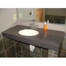 Cтолешница из искусственного камня в ванную